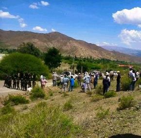 Solidaridad ante la violencia por la Tierra contra los hermanos Diaguitas enSalta