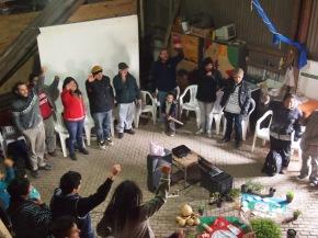 1° Encuentro de Semillas de la UST en Galpón Moluches SanMartín