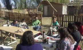 Jornada con la UNCuyo en la Escuela Campesina de Agroecología