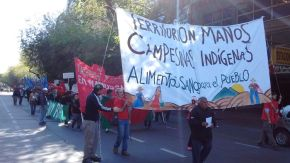 Campesinas y campesinos de toda Mendoza nos movilizamos  para denunciar la crisis agropecuaria y exigir  políticas de emergencia para la Agricultura Familiar yCampesina
