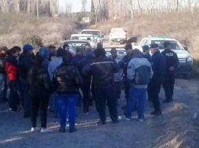 La UST resiste otro intento de desalojo a familia campesina en Punta delAgua