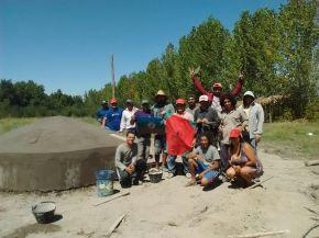 Tupungato: Taller Teórico-Practico de construcción de Cisterna dePlacas