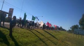 El campesinado del sur de la provincia se movilizó en la Fiesta Nacional de la Ganadería convocado por laUST-MNCI